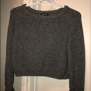 American Apparel Cropped Knit Sweater